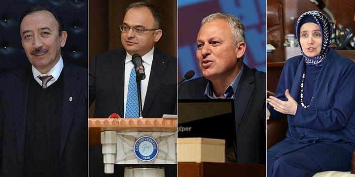 Gazi, Dicle, Yıldız Teknik ve Yalova Üniversitelerinin Rektörleri Açığa Alındı
