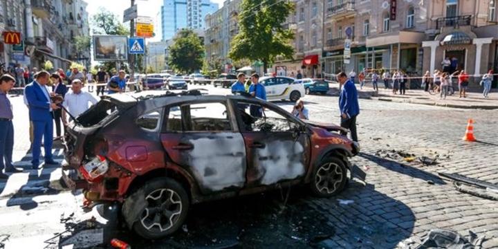 Ukrayna'da Bir Gazeteci Bombalı Saldırı Sonucu Hayatını Kaybetti