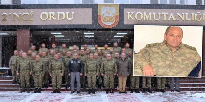 2. Ordu Komutanlığına İsmail Metin Temel Atandı