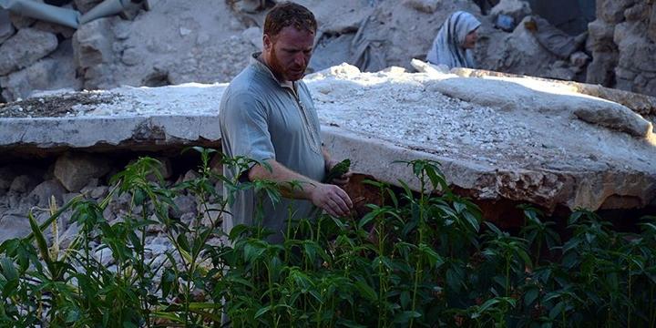 Halep'te Yıkıntılar Arasında Sebze Bahçesi!