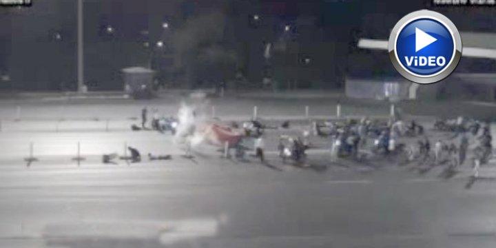Boğaz Köprüsü'ndeki Saldırı Görüntüleri (VİDEO)