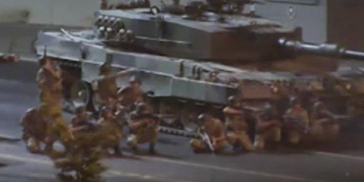 Boğaziçi Köprüsünde Darbecilerin Saldırısı ve Direnişin Görüntüleri