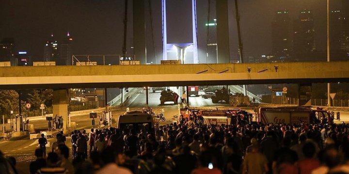 Boğaziçi Köprüsü'nü Kapatan Darbeci Giysi Dolabında Yakalandı