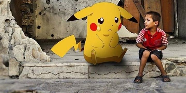 Suriyeli Çocuklar Bu Defa da Pokemon'la Sesleniyor!