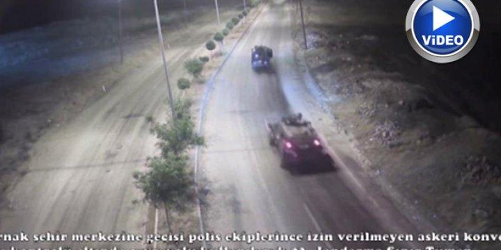 Darbeciler Şırnak'a Girmeye Çalışırken / VİDEO