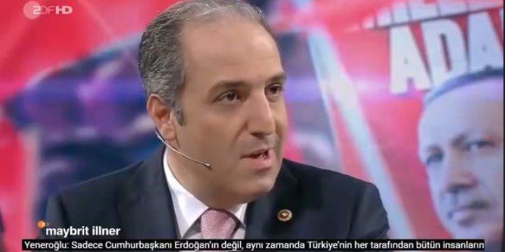 AK Partili Milletvekili ZDF Kanalında Alman Vekillere Ders Verdi