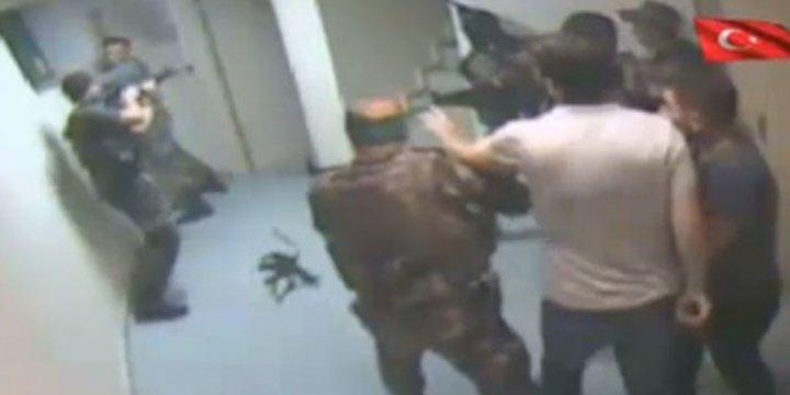 Polis Darbecilerden Kuleyi Böyle Geri Aldı (Video)