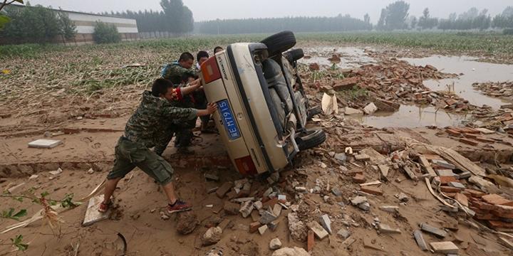 Çin'de Sel ve Heyelan: 130 Kişi Hayatını Kaybetti
