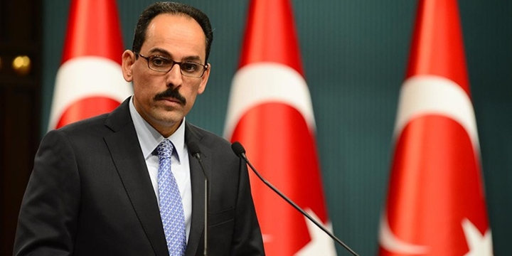 Cumhurbaşkanlığı Sözcüsü Kalın: ABD, Gülen'i Türkiye'ye İade Etmeli