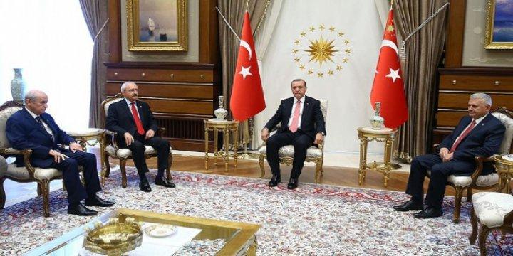 Erdoğan'dan Parti Liderlerine Teşekkür