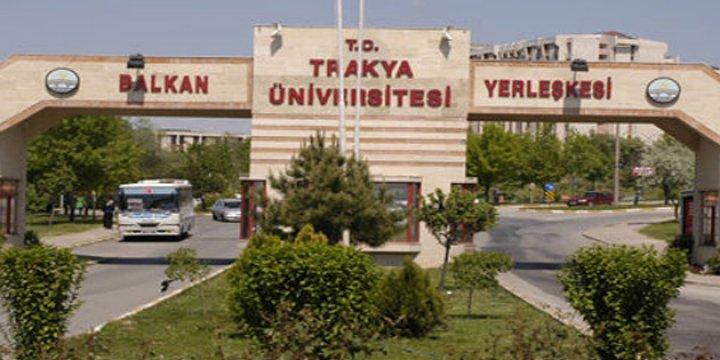 Trakya Üniversitesine 'Darbe Operasyonu'