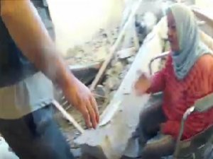 Rusya, Humus'ta Bir Huzurevi Bombaladı