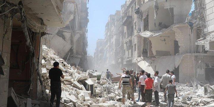 Rus Jetleri Halep'te Çarşıya Ölüm Yağdırdı: 10 Ölü, 15 Yaralı