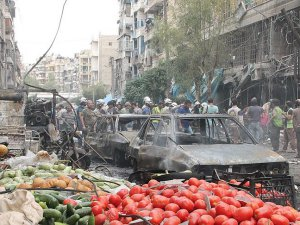 ABD Halep'te Pazar Yerine Saldırdı: 15 Kişi Yaşamını Yitirdi