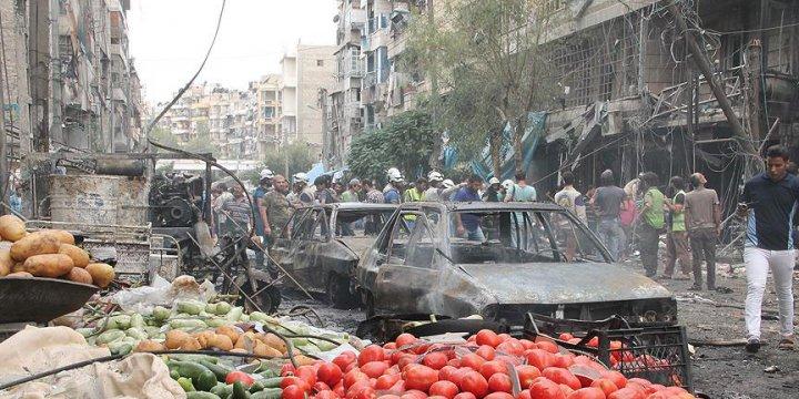 """""""Suriye'de Bir Ayda Bin 557 Sivil Hayatını Kaybetti"""""""