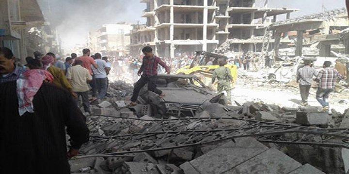 Qamışlo'da IŞİD'in Üstlendiği Saldırıda Ölü Sayısı 50'ye Yükseldi (FOTO)