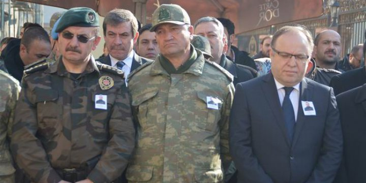 Hedefteki Komutan 2. Ordu'nun Başında