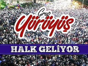 Grup Yürüyüş'ten 15 Temmuz'a Direnen Halk İçin Marş: Halk Geliyor (VİDEO)
