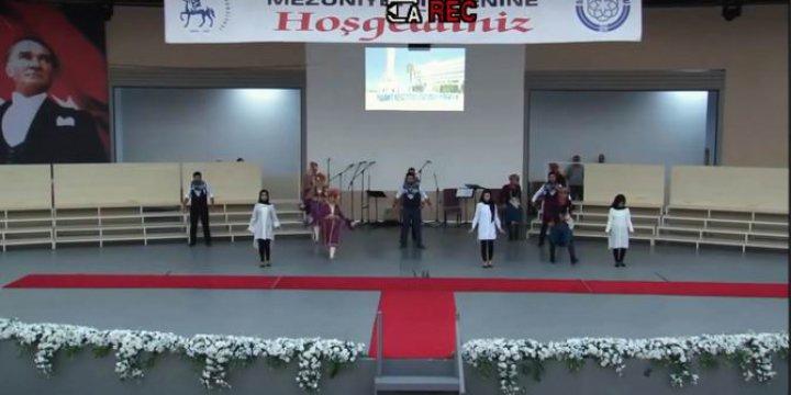 9 Eylül Ünv. İlahiyat Fakültesi Mezuniyet Töreninde Rezalet Görüntüler