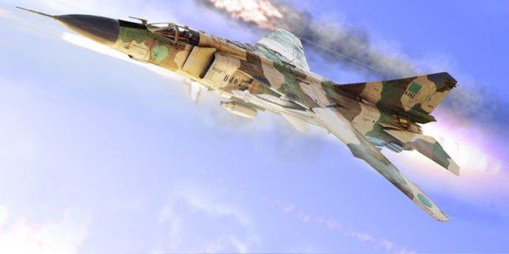 Şam Kalamun'da Rejim Uçağı Yere Çakıldı