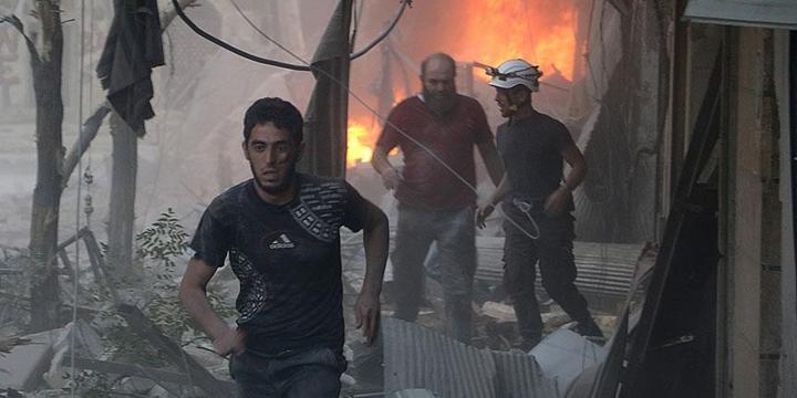 Esed, Halep'te Yine Sivillere Saldırdı: 10 Kişi Hayatını Kaybetti!