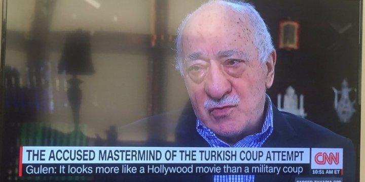 CNN Darbe Taşeronu Gülen'i Konuşturdu