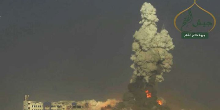 Halep'te Ceyşul Fetih'ten Hamle!