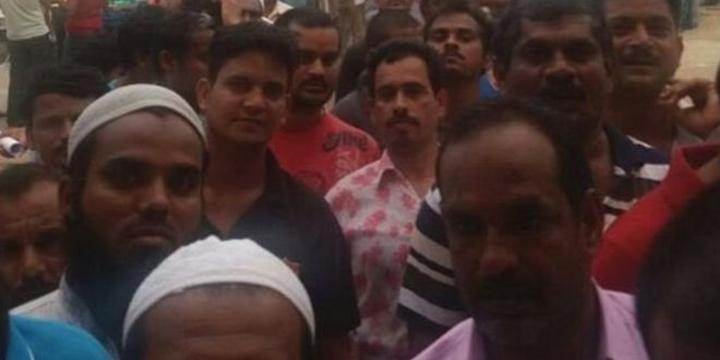 Suudi Arabistan'daki Hindistanlı İşçiler Aç Kaldı!