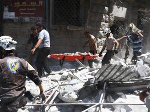 Rus jetleri Halep'te Yerleşim Yerine Saldırdı: 11 Ölü
