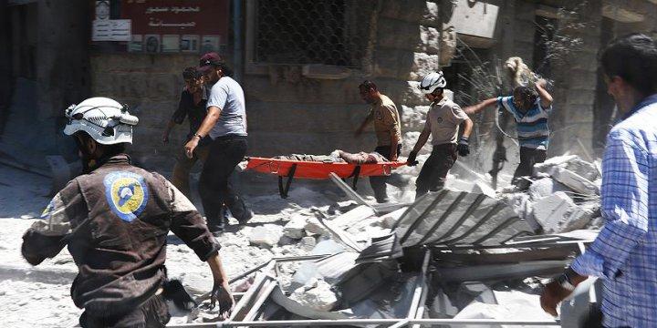Halep'e Füze Saldırısı: 6 Kişi Hayatını Kaybetti!