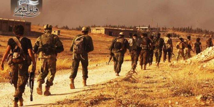 Fetih Ordusu Metreler Sonra Halep'te!