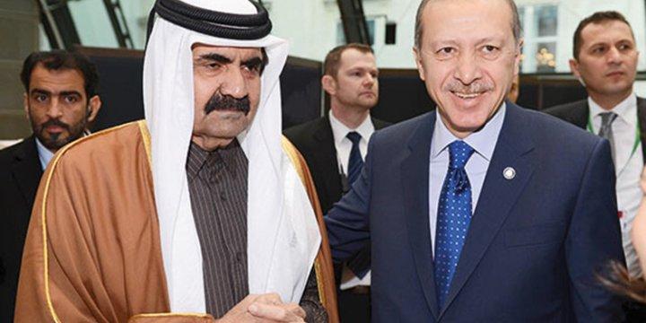 Katar Emiri Tani'den Dayanışma Mesajı