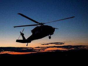 Libya'da Helikopter Düştü
