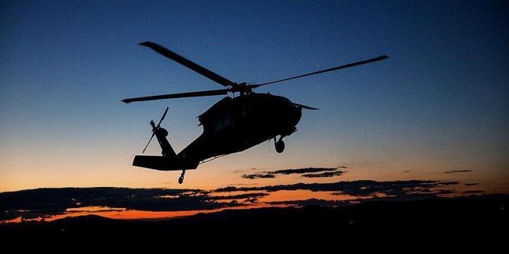 Hakkari'de '3 Helikopterin Vurulduğu' İddiasına Yalanlama