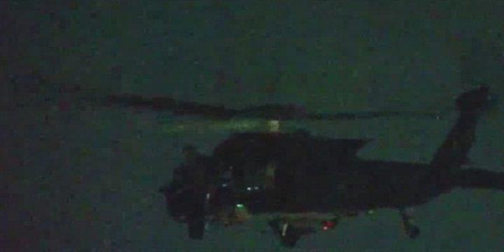 Hatay Sınırında ABD'li Helikopter Hareketliliği
