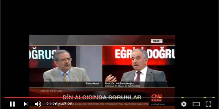 Ali Bardakoğlu: Fethullah Gülen, İbn-i Arabi ve Said Nursi'nin Ortak Özelliği…