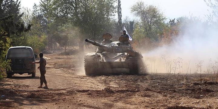 Fetih Ordusu Halep Kuşatmasını Kırdı