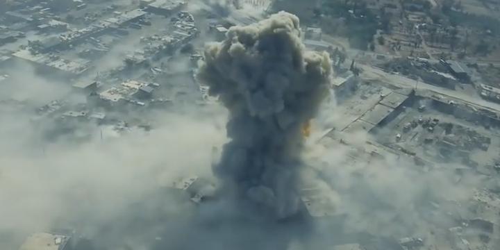 Ramuse'ye Bombalı Araçla Saldırı Ânı (Video)