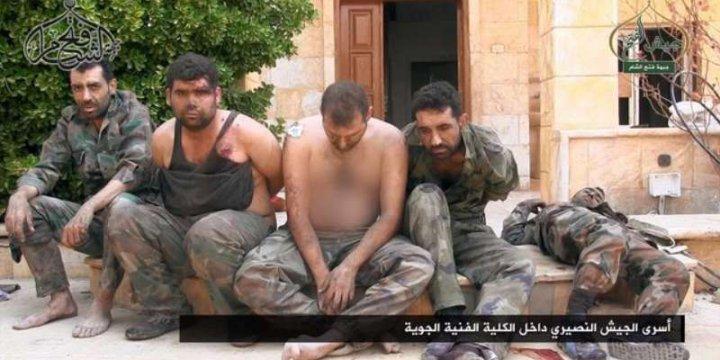 Fetih Ordusu Esedçi Esir Teröristlerin Fotoğraflarını Yayınladı