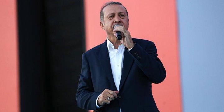 Cumhurbaşkanı Erdoğan: 15 Temmuz Bu Ülkenin Yıkılmayacağını Göstermiştir