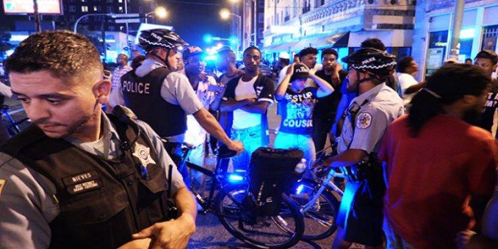 ABD'de Polisin Siyahilere Yönelik Şiddeti Protesto Edildi