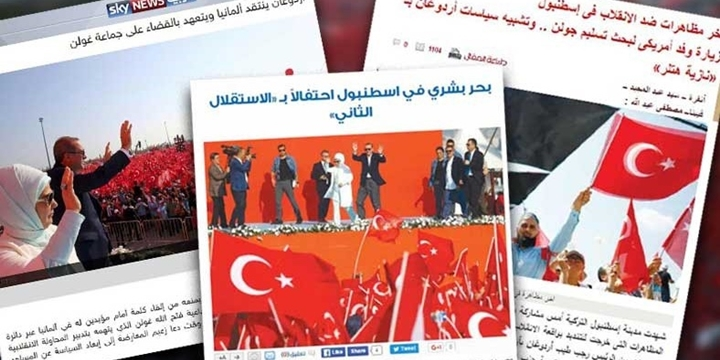 Arap Basınında Yenikapı Mitingi
