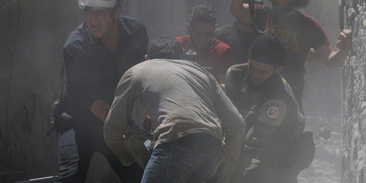 Esed Güçlerinden Sivillere Vakum Bombalı Saldırı