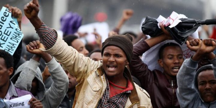 Etiyopya'daki Protestolarda 'Yaklaşık 100 Kişi Öldürüldü'