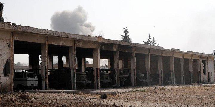 Esed'in Halep'te Düşen Kalesi: 'Topçu Okulu'