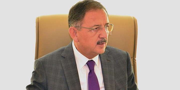 Çevre ve Şehircilik Bakanı: Güneydoğu'da İnşaatlarımız Hızla Sürüyor