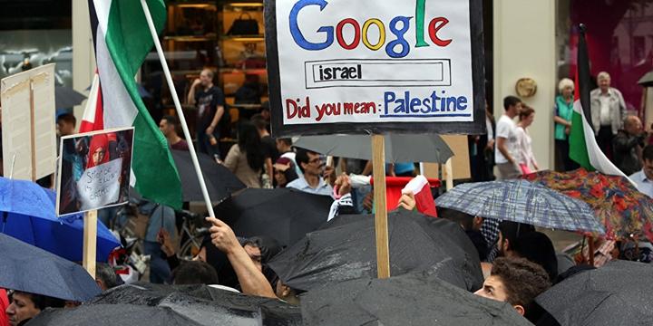 Google İçin Filistin Diye Bir Yer Hiçbir Zaman Olmamış!