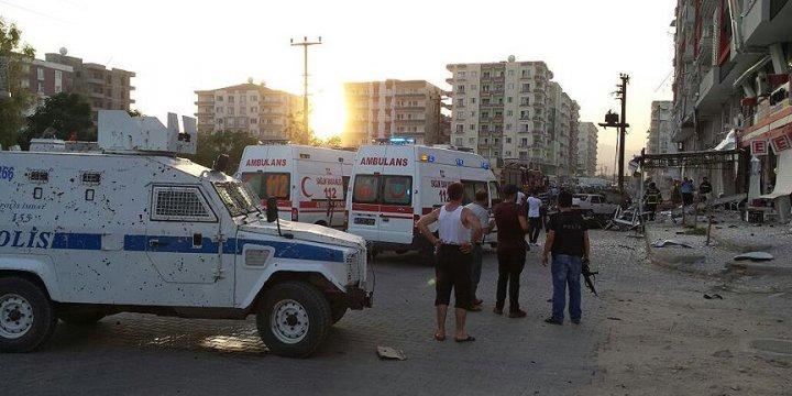 Mardin ve Diyarbakır'da Polis Araçlarına Yönelik PKK Saldırısı