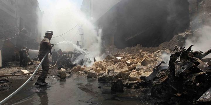 İdlib'de Bombardıman: 21 Sivil Hayatını Kaybetti!
