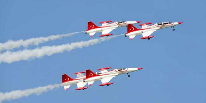 Suriye Hava Sahası Türkiye Jetlerine Açıldı
